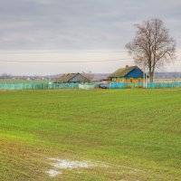Сельский пейзаж :: Константин
