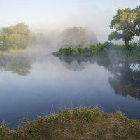 Туман над рекой Псел :: Сергей Корнев