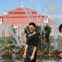 Фотосессия у фонтана :: ZNatasha -