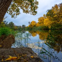 Осенний пейзаж :: Александр Кан