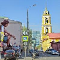 Москва.Улица Рождественка. :: В и т а л и й .... Л а б з о'в