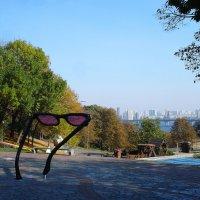 Очки, чтобы лучше разглядеть другой берег... :: Тамара Бедай
