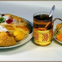 Вечернее чаепитие в ожидании разгрома бразильцев...:) :: Андрей Заломленков