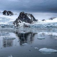 (почти) гладкое отражение ледников :: Георгий А