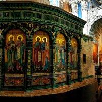 Главная святыня Нового Иерусалима-Живоносный гроб Господень. :: Татьяна Помогалова