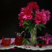 Когда цветут пионы... :: Нэля Лысенко