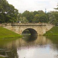 Карпин Пруд. Мост над протокой в Белое Озеро. :: Алексей Никитин