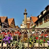 Ворота и башня св. Марка - один из самых атмосферных и фотогеничных уголков Ротенбурга. :: backareva.irina Бакарева