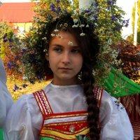 девочка краса - длинная коса :: Alisa Koteva