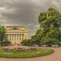 Екатерининский сад. Вид на Александринский театр. :: bajguz igor