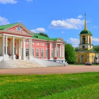 Дворец в усадьбе Кусково :: Константин Анисимов