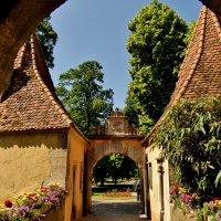 Замковые ворота (Burgtor) - одни из главных городских ворот  Ротенбурга :: backareva.irina Бакарева