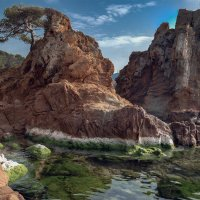 Две скалы :: Андрей Бондаренко