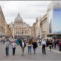 Рим. Прощальный взгляд на Ватикан. :: Михаил Розенберг