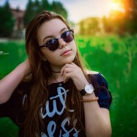 на закате ,)) :: Наталья Владимировна Сидорова