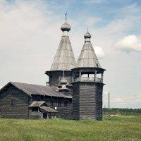 Каргопольское ожерелье. Церковь Иоанна Златоуста :: Тата Казакова