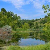 Озеро в горах. :: Анатолий