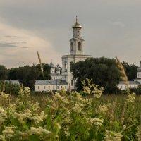 Колокольня Юрьево монастыря. Великий Новгород :: Олег Фролов