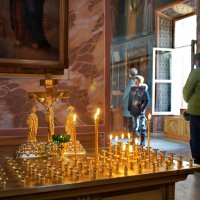 В церкви. :: Александр Бабаев