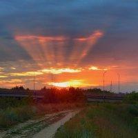 Зари торжественные звуки! ... Солнечная симфония, сыгранная на Небесном оргАне! ) :: Елена (Elena Fly) Хайдукова