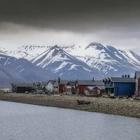 г. Лонгиербюен (Longyearbyen) - столица архипелага Свальбард :: Георгий