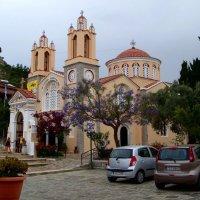 Церковь Святого Пантелеймона в Сиане (Греция, о. Родос) :: Ольга Русанова (olg-rusanowa2010)