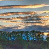 Полосатый рассвет! ... (волшебство раннего утра) :: Елена (Elena Fly) Хайдукова