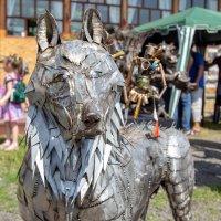 Серый волк. Экспонаты фестиваля. :: Наталья Верхотурова