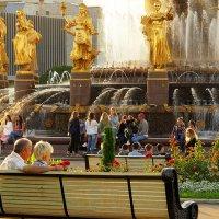 фонтаны особый комфорт столицы :: Олег Лукьянов
