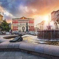 Прежний вид Тверской площади в Москве :: Юлия Батурина