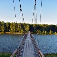 Висячий мост :: Nina Streapan