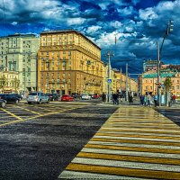 Москва, площадь Белорусского вокзала :: Игорь Герман