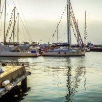 Воскресный вечер на море :: Эдуард Куклин