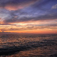 Небо после заката. :: Любовь