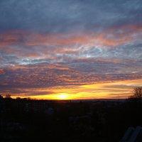 Горячий закат начала года :: Syntaxist (Светлана)