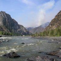 пожар в горах :: nataly-teplyakov