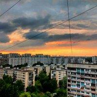 Московский закат в СВАО. :: megaden774