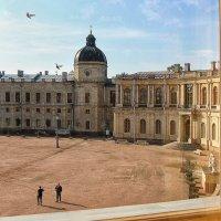 У окна Гатчинского дворца (3) :: Nina Karyuk