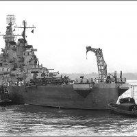 "Battleship USS ""Iowa"" off New York Naval Ship Yard, July 9th 1943. :: Александр"
