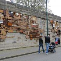 Стена набережной Сены. :: ИРЭН@ .