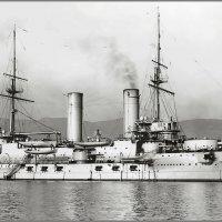 """эскадренный броненосец """" Слава"""" в Тулоне. 1910 год. :: Александр"""