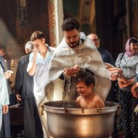 Крещение трех братьев :: Александра Капылова