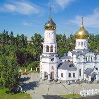 Храм Петра и Февронии Новокузнецк :: Юрий Лобачев