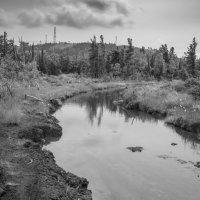 Хотели сделать дорогу - получилась река :: Валерий Михмель