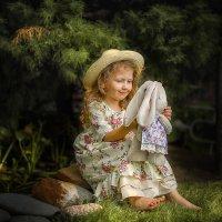 В саду у бабушки :: Екатерина Баранова-Бухтиенко