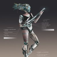 Concept Girl Hunter :: Gargona