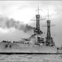 "Battleship USS ""Nevada"" in Port Phillip Bay (near Melbourne), Australia, July 23rd 1925. :: Александр"