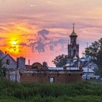 Закат в селе Крестовское... :: Pavel Kravchenko