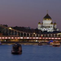 Крымский мост. :: Александр Бабаев