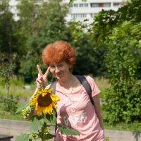 С приветом из Сиреневого сада :: Mamatysik Наталья Бурмистрова